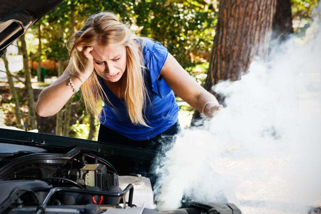 Техническое обслуживание системы охлаждения двигателя
